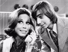 photo Mary Tyler Moore Gerald Michenand Mary Tyler Moore Show TV 2546-36