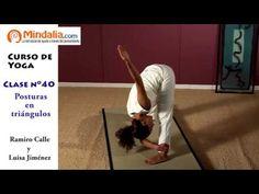 Posturas en triángulos por Ramiro Calle. CLASE DE YOGA 40 - YouTube Youtube, Asana, Gym, Videos, Universe, Yoga At Home, Healthy Living, Social Networks, Spirituality