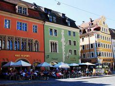 Regensburg - Altstadt - Domplatz Bilder Stadt/Ort Altstadt Regensburg