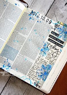 Triple the Scraps: Glory {Art 2016} Scripture Challenge #10, Low Moments