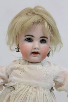 Small 13inch Antique 929 S6H SIMON & HALBIG German Bisque Head Doll