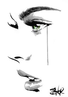 Loui Jover - Drawings for Sale Chihuahua Art, Silhouette Painting, Sketch Painting, Pencil Art Drawings, Drawing People, Portrait Art, Belle Photo, Illustration Art, Sketches