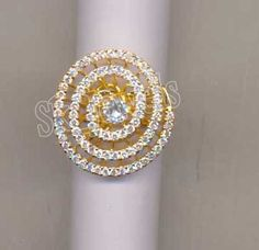 THANKSGIVING !!!! 1.30CT NATURAL  DIAMOND 14K YELLOW GOLD ENGAGEMENT RING  #Sk_Jewels #Cocktail