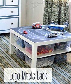 Lego Storage Ideas - DIY Table Box