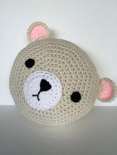 Crochet Polar Bear by PeanutButterDynamite on Etsy