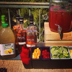 Ah, the Southern #California weather is so nice, we thought we'd work outside today :) #InfusetheDay #InfuseVodka