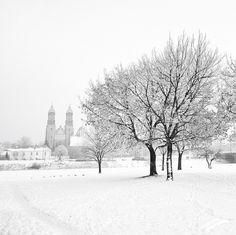 Winter in Poznan, Poland