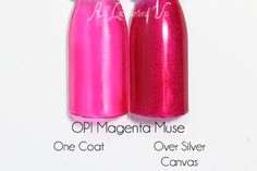 OPI Magenta Muse swatch - Color Paints via @alllacqueredup