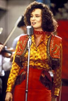 "Jessica Lange in ""Sweet Dreams"" 1985 Biographical film tells the life story of country music singer Pasty Cline."