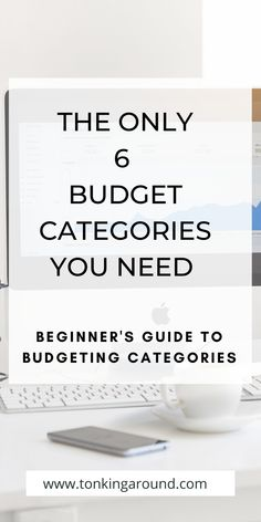 the only 6 budget categories you need to get your finances in order. Make a budget that works with these 6 budget categories. beginner's guide to budgeting and personal finance. Using Facebook For Business, How To Use Facebook, Making A Budget, Create A Budget, Budgeting Finances, Budgeting Tips, Living On A Budget, Frugal Living, Budgeting Worksheets