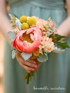 pretty for bridesmaids--love the shape, though will be too early for peonies