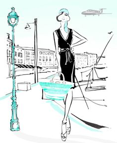 The LBD - Little Black Dress - for Relaxing - www.the-lbd.com #ThePerfectLBD