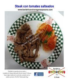 Steak o Carne vacuna magra con tomate, perfecto para bajar la balanza. Necesitas otras ideas para tu cena. Visita nuestro webiste.