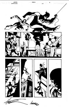 I MIEI SOGNI D'ANARCHIA - Calabria Anarchica: Nightwing 115 Page 6  Artists: Phil Hester (Pencil...