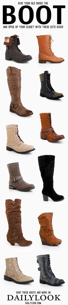 DailyLook Boots Giveaway