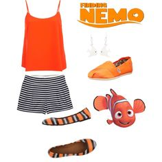 Nemo disney inspired outfit