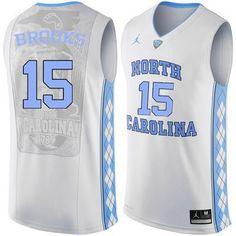 5b10126b1afb UNC Tarheels Garrison Brooks  15 Basketball Players Jersey (Stitched) Michael  Jordan College