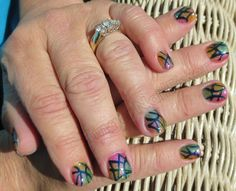 FingerNailFixer :: Stained Glass Shellac