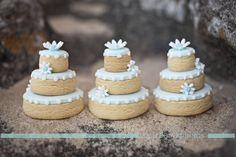 Wedding Cookie Cakes by Yummies www.yummies.com.au  Jetty Blue, wedding photography www.jettyblue.com.au