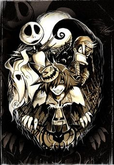 kingdom hearts halloween town dalmatians