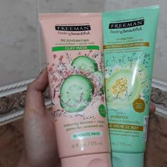 I love Freeman's. They have the best skincare product. Their overnight cream mask is the best for dry skin.