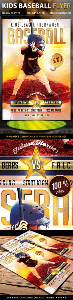 Football Flyer Fonts, Football and Flyers - baseball flyer