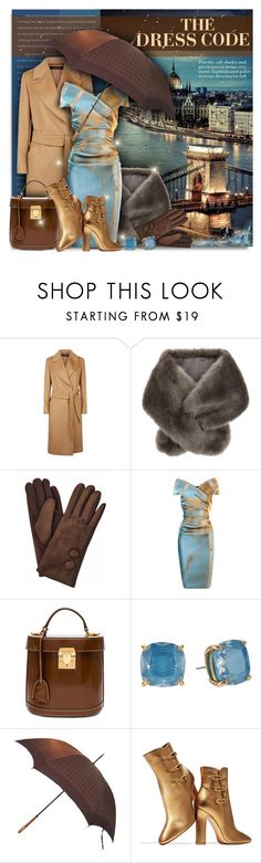 """""""The Dress Code"""" by petri5 ❤ liked on Polyvore featuring Accessorize, Talbot Runhof, Mark Cross, Kate Spade, Louis Vuitton and Gianvito Rossi"""