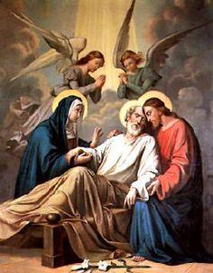 pictures of st joseph with jesus Catholic Prayers, Catholic Art, Catholic Saints, Catholic Pictures, Jesus Pictures, Religious Images, Religious Art, Jesus Jose Y Maria, St Joseph Feast Day