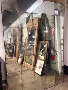 RH large mirror.