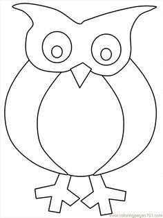 <b>free</b> <b>printable</b> <b>coloring</b> <b>page</b> <b>Owl</b> <b>Coloring</b> 03 (Birds > <b>Owl</b>)