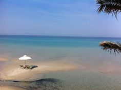 """A little """"island"""" at the Sani Beach Club #Sani_Resort #Greece #Halkidiki"""