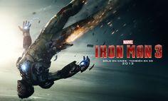 Tony falls in 'Iron Man 3'