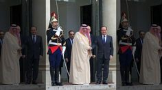 French president Francois Hollande meets Friday in Paris with Saudi crown prince Mohammed bin Nayef, whose country is taking part in the coalition fighting the ISIS group in Syria and Iraq.