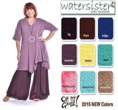 Love it? Double click for more info and all of our natural-fiber clothing or to purchase.    Follow our daily inspirations here: https://www.facebook.com/watersisterdrygoods      Shop our artistic inspired- natural fiber clothing here: ebay.com/Watersister       Stop in and shop locally at 2259 2nd Ave S St Petersburg, Florida  Spring colors are here :)