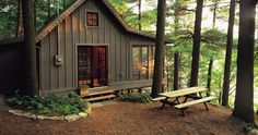A Cabin, simple, small and just enough to get away to. Without worrying how you'll find it each time you come back.
