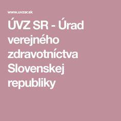 ÚVZ SR - Úrad verejného zdravotníctva Slovenskej republiky Crowns
