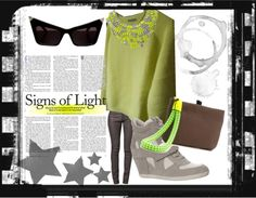 """""""Signs of neon light"""" by nikkichapple on Polyvore"""