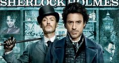 """The OST of the Movie """"Sherlock Holmes"""" Directed by Guy Ritchie Music by Hans Zimmer Starring by Robert Downey, Jr. as Sherlock Holmes and Jude Law as. Sherlock Season 4, Sherlock Holmes 3, Robert Downey Jr., Guy Ritchie, Sherlock Cross Stitch, Jude Low, Detective, Thriller, Holmes Movie"""