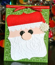 Stampin' Up! Christmas by Krystal's Cards and More: Top Note Santa