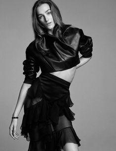 Joséphine Le Tutour by Miguel Reveriego for Vogue Spain April 2016