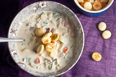 New England Clam Chowder | Healthy. Delicious.