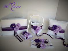 Purple Wedding Set, wedding set, purple wedding, Customize Wedding