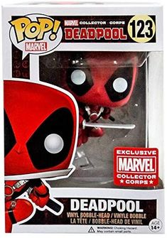 best service a3769 8c547 Pop! Marvel Leaping Deadpool Collector Corps Exclusive Vinyl Figure by FunKo  Marvel Collector Corps,
