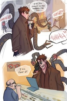 Marvel Avengers, Marvel Comics, Dr Octopus, Alfred Molina, Character Art, Spiderman, Funny Pictures, Geek Stuff, Fan Art