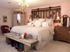 Rustic cowgirl room