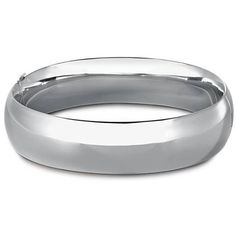 Wide Rounded Bangle Bracelet in Sterling Silver *Very similar to the bangles Selina is wearing in Book 1*