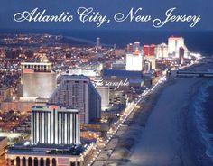 $3.25 - Nj - Atlantic City 1 - Travel Souvenir Magnet #ebay #Collectibles