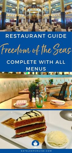 We are back from our cruise with this new Amplified Freedom of the Seas Restaurant Guide complete with pictures, menus, and all the details for each venue. Cruise Checklist, Cruise Tips, Cruise Travel, Royal Caribbean Ships, Royal Caribbean Cruise, Cruise Excursions, Cruise Destinations, Freedom Of The Seas, Cruise Ship Reviews