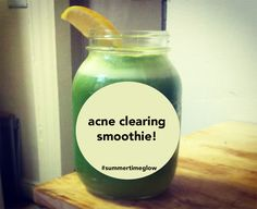 Want an acne clearing smoothie to brighten your skin and weekend? Grab one through the link above now!
