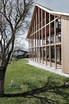 marte - Summer house renovation, Weiler Via, photos © marte. Architecture Renovation, Architecture Résidentielle, Temporary Architecture, Wood Facade, Building Concept, Timber House, House Front, Beautiful Homes, House Design